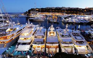 Yacht à Monaco